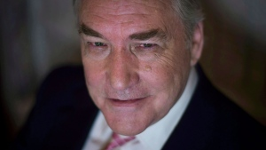 Conrad Black poses at the University Club in Toronto on Tuesday, November 11, 2014. (THE CANADIAN PRESS / Darren Calabrese)