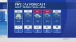 Montreal forecast