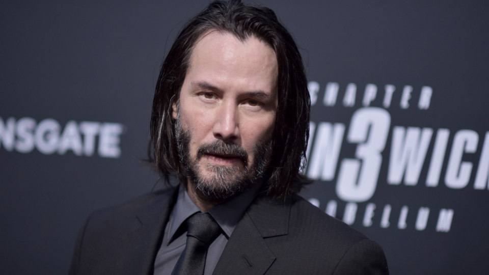 Keanu Reeves attends a special screening of 'John Wick: Chapter 3 - Parabellum' at the TCL Chinese Theatre in L.A. on May 15, 2019. (Richard Shotwell / Invision / AP)