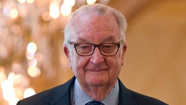 Former Belgian King Albert II