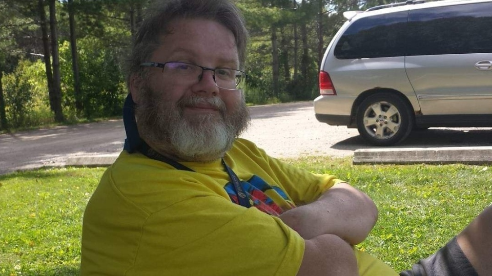 Paul Bell, 57, was hit by a vehicle while crossing the street in a mobility scooter. (Source: GoFundMe)