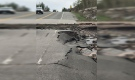 Washout closes Highway 535 (OPP North East)