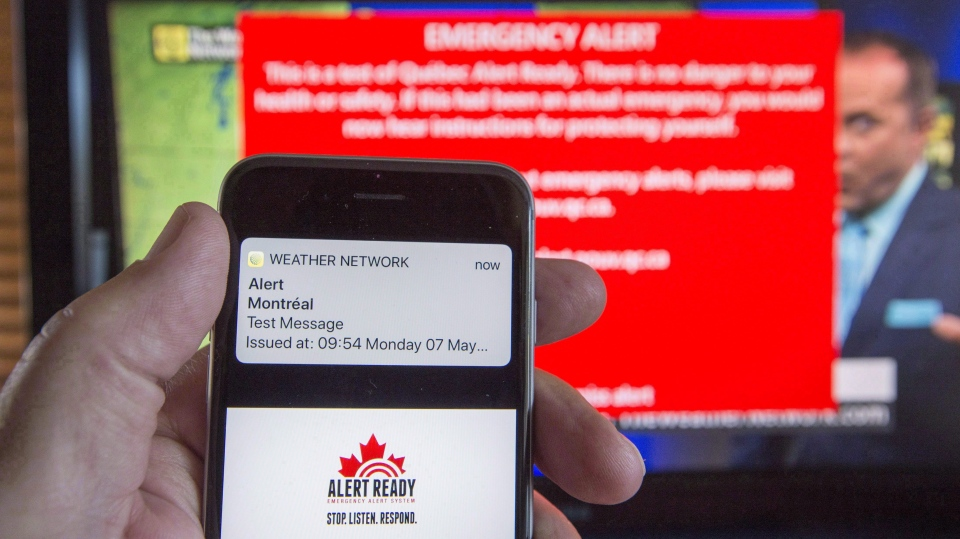 Alert Ready Amber Alert system