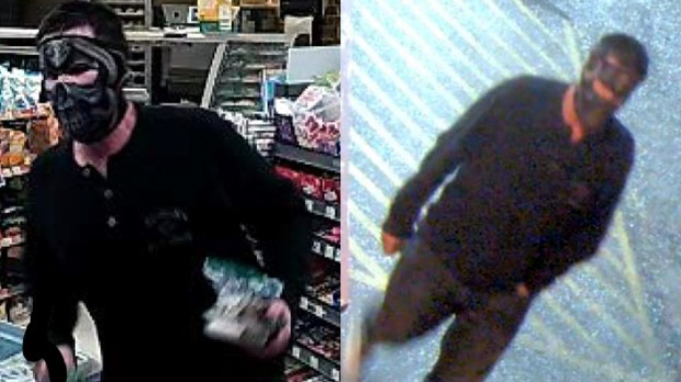 Police are searching for robbery suspect
