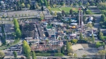 Playland is pictured from the air in CTV's Chopper 9 in May 2019. (Pete Cline / CTV News Vancouver)