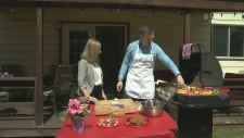 CTV Northern Ontario's Jessica Gosselin learns how to make dessert on the barbecue.