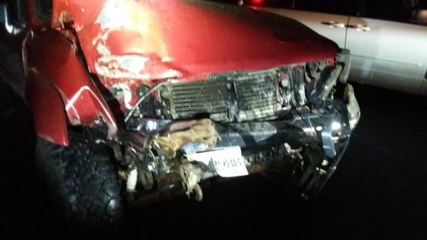Pickup crash