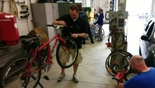 Bicycle recycling program returns