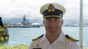 CFB Esquimalt Capt. Jason Boyd says he is concerned that people continue to trespass in the live-fire facility. (Canadian Armed Forces)