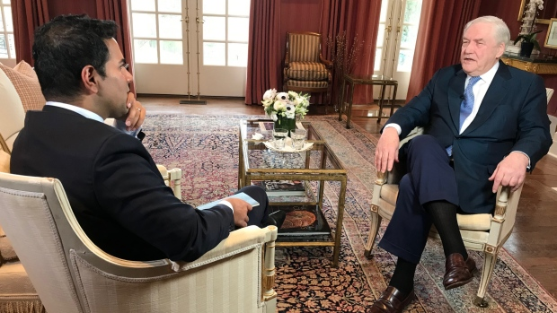 Conrad Black speaks to Omar Sachedina about the pardon granted to him by U.S. President Donald Trump.