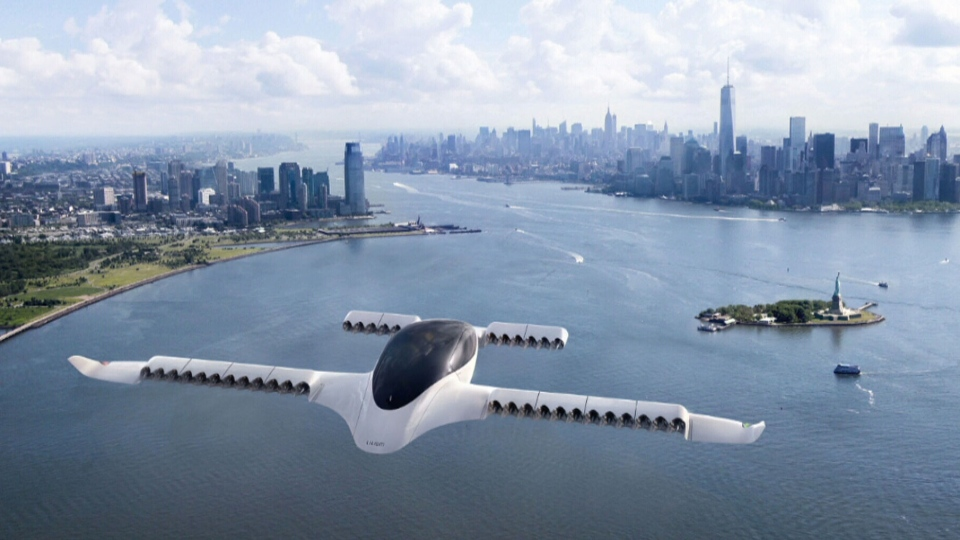 An aerospace company in Germany has unveiled a prototype it hopes will one day make the flying car a reality.
