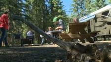 Alberta, liquor ban, provincial park campgrounds