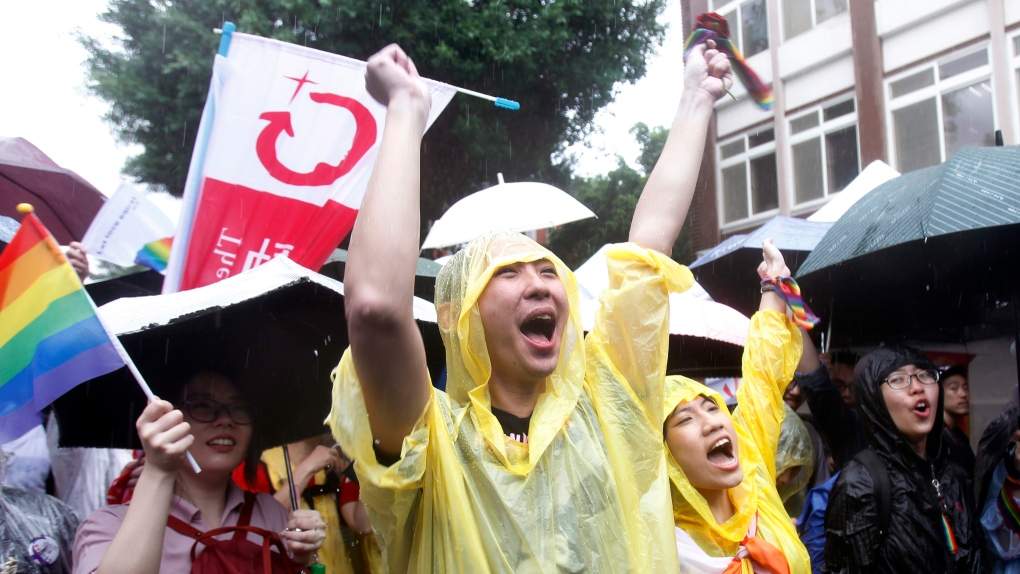 Gay couples plan mass weddings after Taiwan legalizes unions