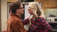 A scene from 'The Big Bang Theory' finale