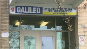 The Galileo Adult Education Centre is at the heart of a dispute between the EMSB and the Education Ministry
