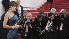 Carla Bruni-Sarkozy at 'Les Miserables' premiere