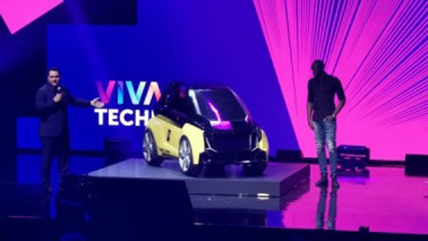 Usain Bolt unveils the Nano in Paris