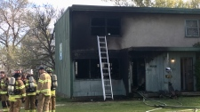 Holyrood fire 2, May 17