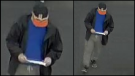 Image of a suspected shoplifter in Barrie on Sat., May 4, 2019 (Barrie Police Services)