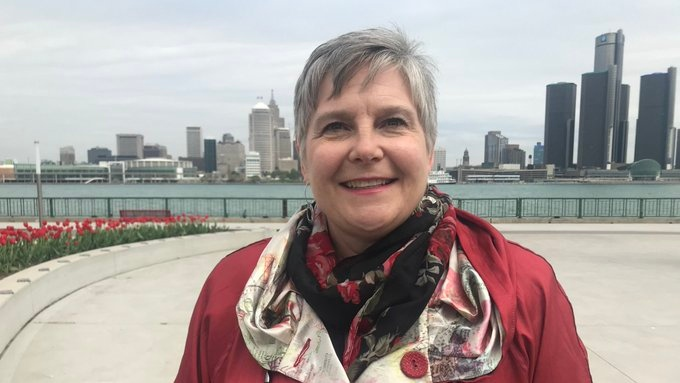 Melinda Munro has announced her intention to seek the Liberal nomination in Windsor West in Windsor, Ont., on Friday, May 17, 2019. (Rich Garton / CTV Windsor)