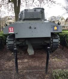 'Holy Roller' Sherman tank
