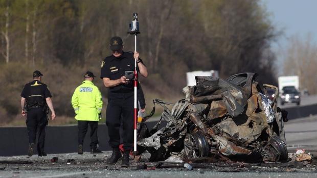 Ontario highway crash
