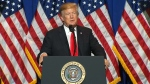 U.S. President Trump speaks in Washington
