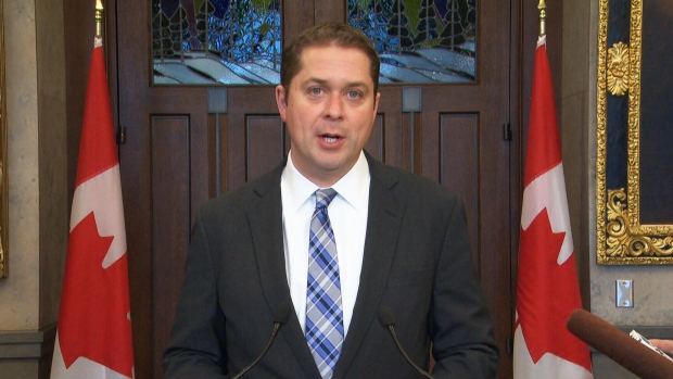 Scheer says Tories 'will not re-open' abortion issue