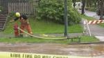 Water main break floods East Van home