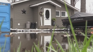 High winds and rain in the Jocko Point area are causing more flooding problems for residents. Brittany Bortolon reports.