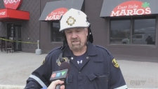 An early morning fire at a Timmins restaurant was put out quickly, but caused a lot of damage. Lydia Chubak reports.
