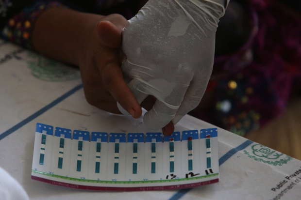 Over 500 including children test positive for HIV in Pakistani village