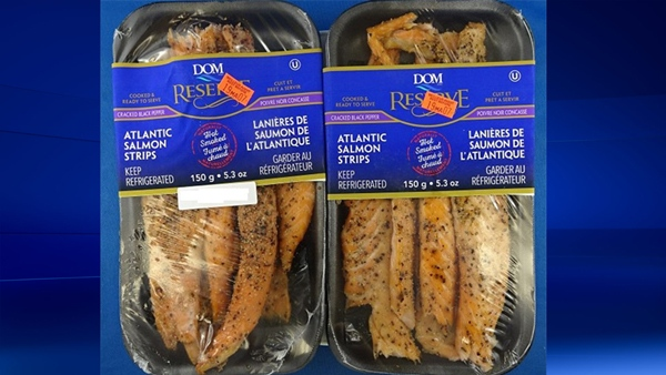Food recall on salmon strips sold in Quebec and Ontario
