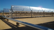 The solar project was initiated in 2008  (City of Medicine Hat)