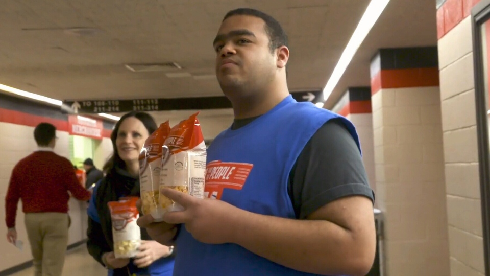 The non-profit gourmet popcorn business, Popcorn for the People, was started by Steven Bier from New Jersey. He his son Sam now works alongside other adults with developmental difficulties.