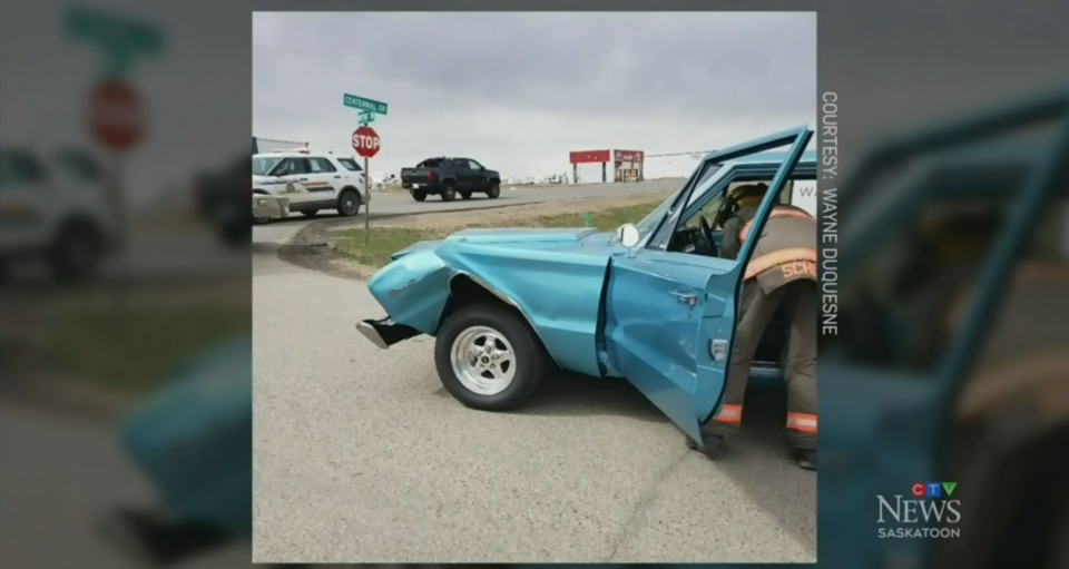A Saskatchewan senior who suffered a medical emergency behind the wheel is recovering in hospital thanks to quick-thinking strangers, including the man whose car he rear-ended. (Wayne Duquesne)