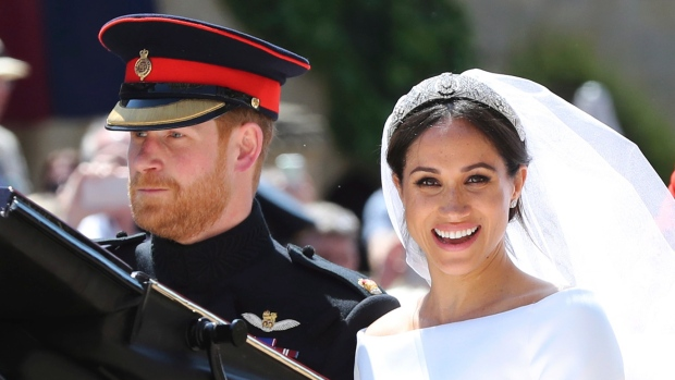 Harry, Meghan share unseen photos on first wedding anniversary