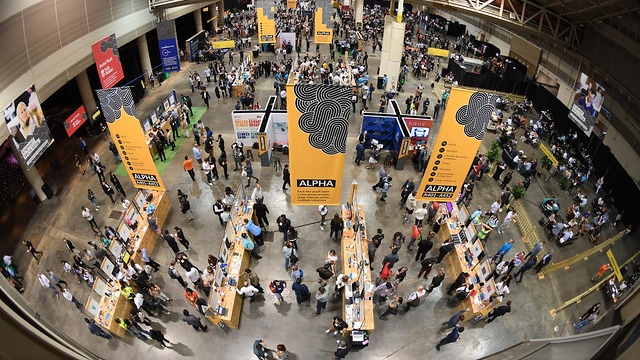 The Collision tech conference will see approximately 1,100 startup companies exhibit their work in Toronto. (Stephen McCarthy / Collision / Sportsfile)