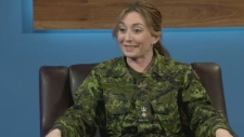 Corrine MacLellan, Honorary Lieutenant Colonel for the Halifax Rifles joins CTV News to discuss her new position.