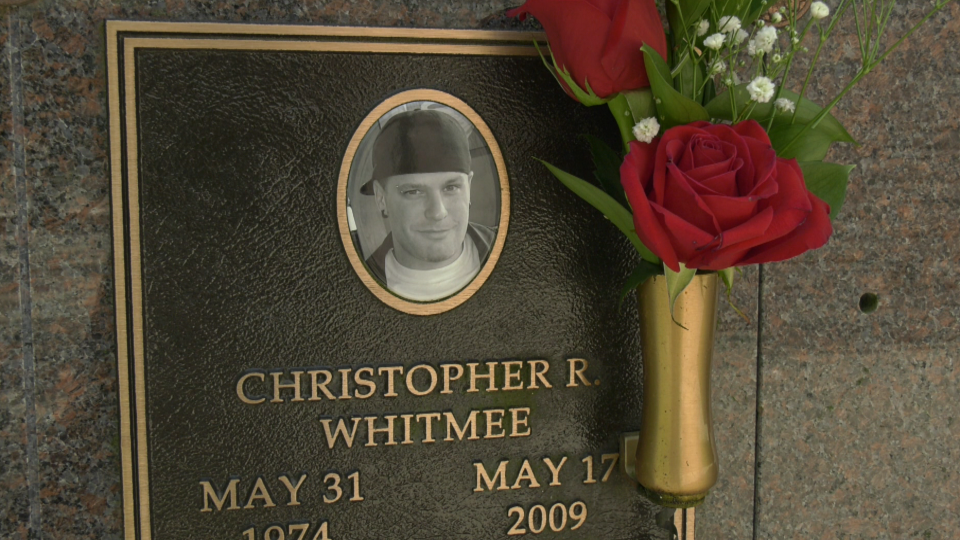 Christopher Whitmee was an innocent bystander in a shooting in the Cloverdale Show Lounge.