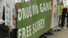 Anti-gang walk held in Surrey