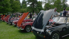 British classic car show held at Van Dusen