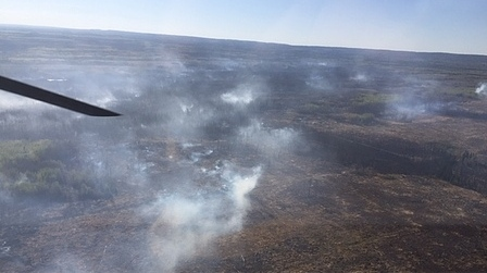 Fires continue to burn near Slave Lake, High Level, Peace River