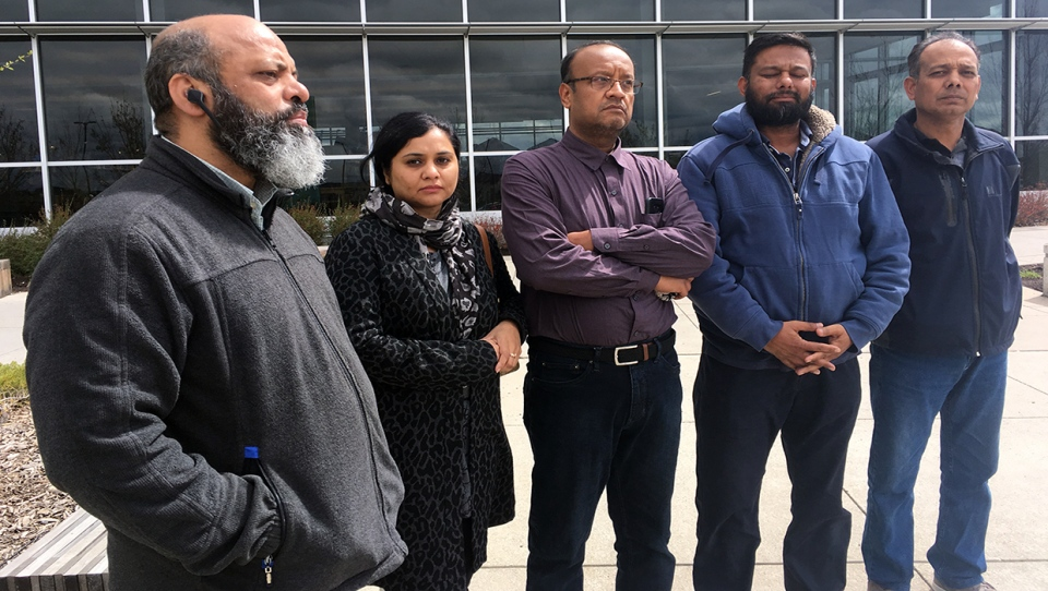 Members of the Pakistani community are rallying behind a family who are mourning the loss of a mother and daughter after they were killed in a crash in northeast Calgary on May 18, 2019.