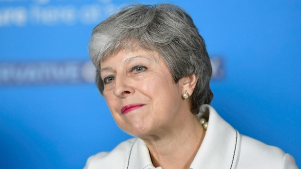 Britain's Prime Minster Theresa May