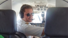 Canadian Patrick Forseth was the pilot of a small plane that crashed in Honduras on Saturday, killing all five people on board. (Photo: Daniel Miller/Facebook)