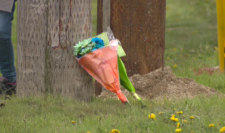 Guelph crash vigil flowers