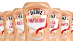 Bottles of maychup are seen in a handout image from Kraft Heinz.