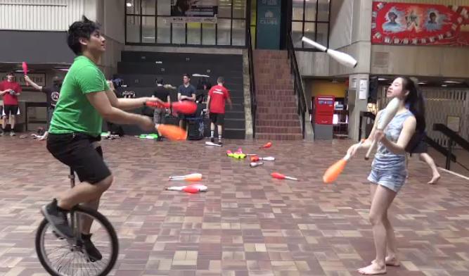 Juggling Festival swings into University of Guelph
