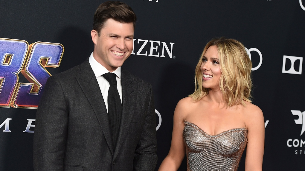 Scarlett Johansson And Colin Jost Are Engaged Ap Reports Ctv News